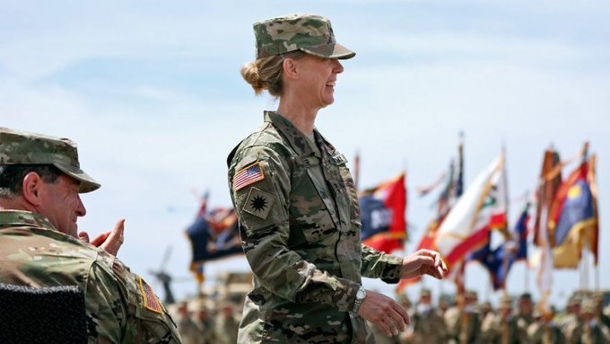 Major Gen. Laura Yeager: first women to appointed as head of U.S. Army Infantry division