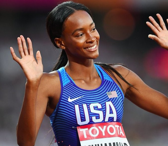 Dalilah Muhammad breaks Women´s 400m hurdles world record