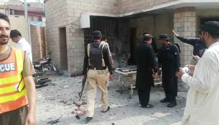 Suicide bombing by a woman in Dera Ismail Khan