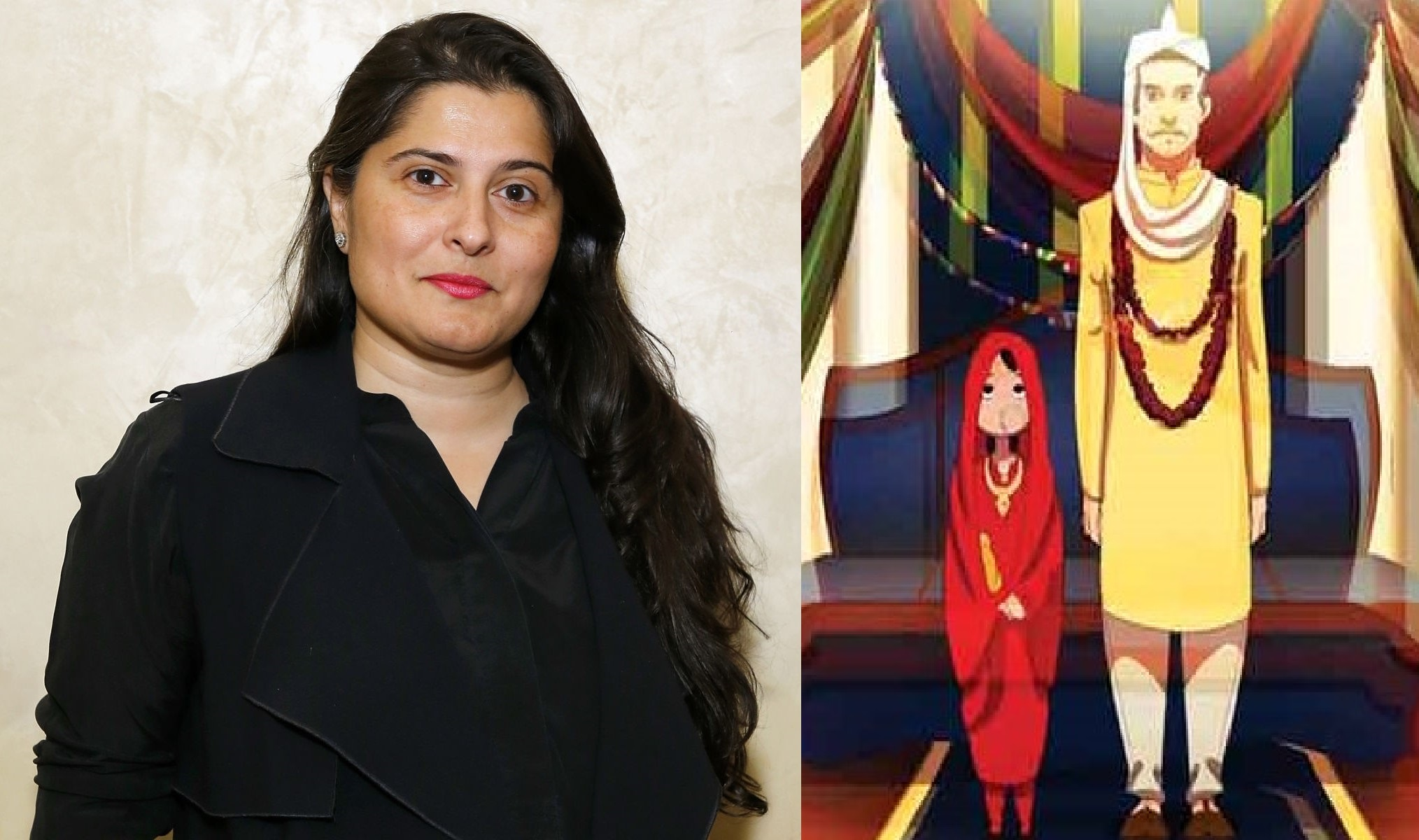 """Sharmeen Obaid Chinoy launched the third animated short series """"The shattering of silence"""""""