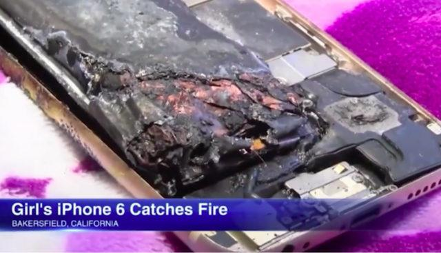 Apple replacing the 11-year-old girl's exploded iPhone 6