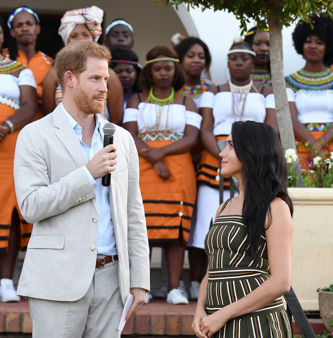 Meghan Markel and Prince Harry rebuke violence against women in South Africa