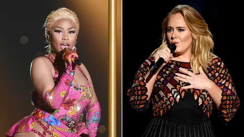 Niki Minaj gave spoilers about her collaboration with Adele