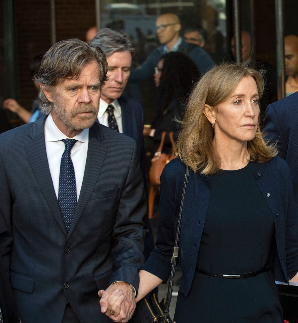 Felicity Huffman set free from jail two days early before a release date