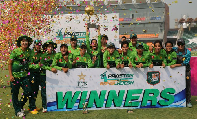 Pak women vs BAN women: PAK women's team won by 28 runs