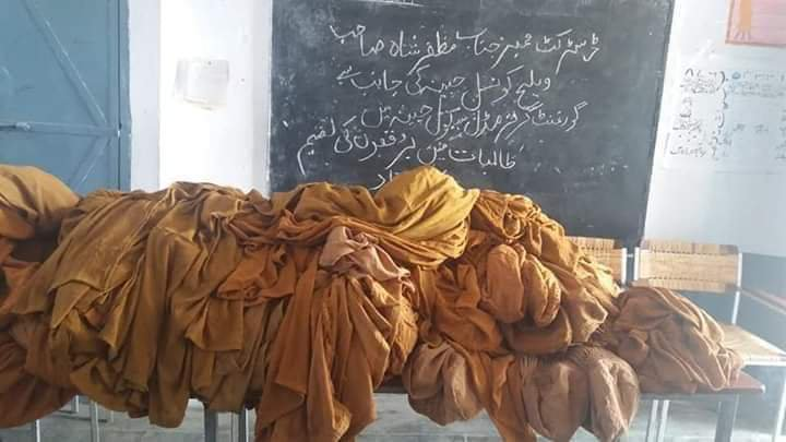 Burqa distribution among women in KP schools divides twitter in two