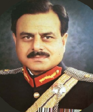 Hamid Gul's wife passed away on Saturday