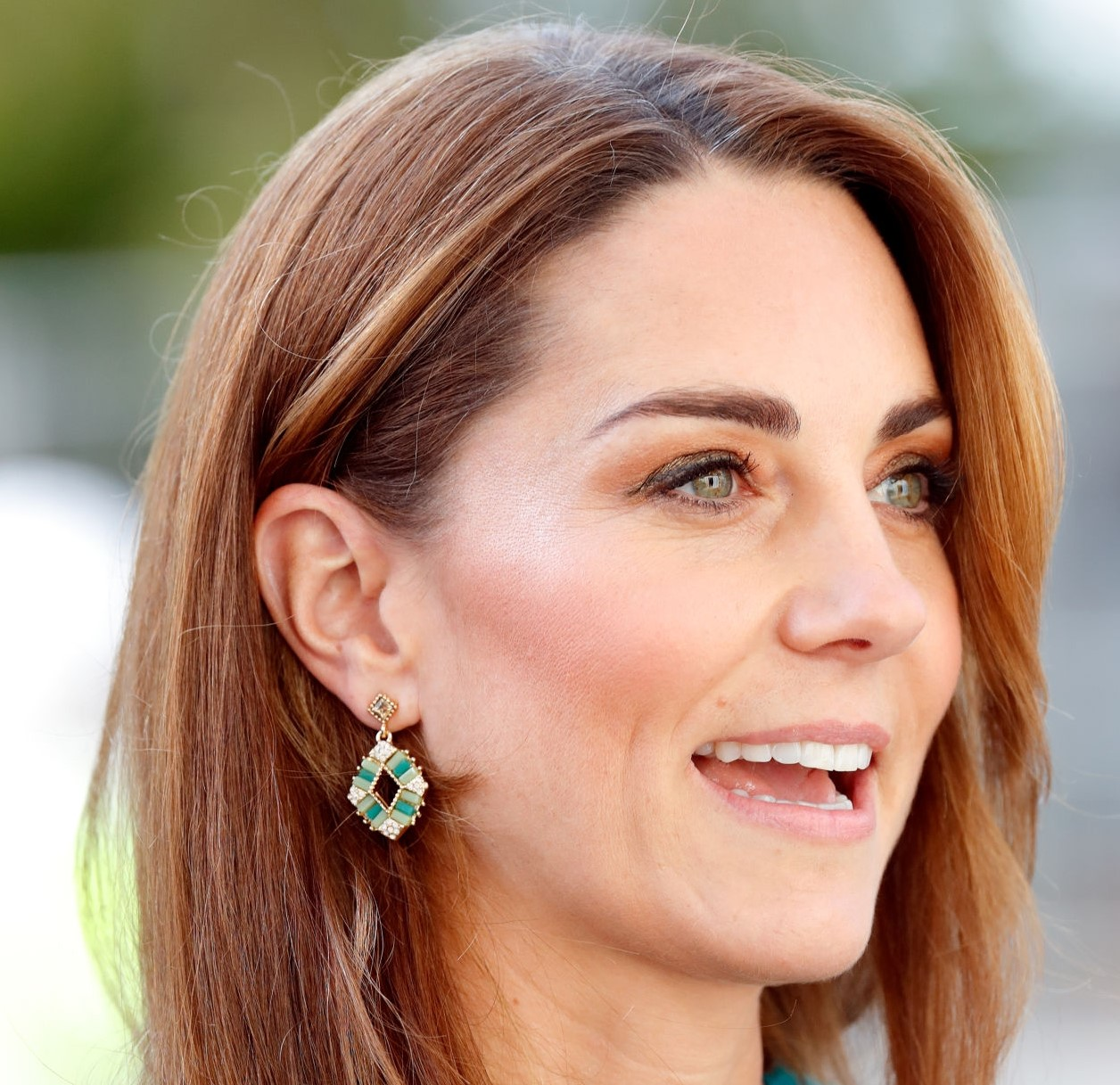 Duchess of Cambridge seen wearing Pakistani brand's Zeen earrings