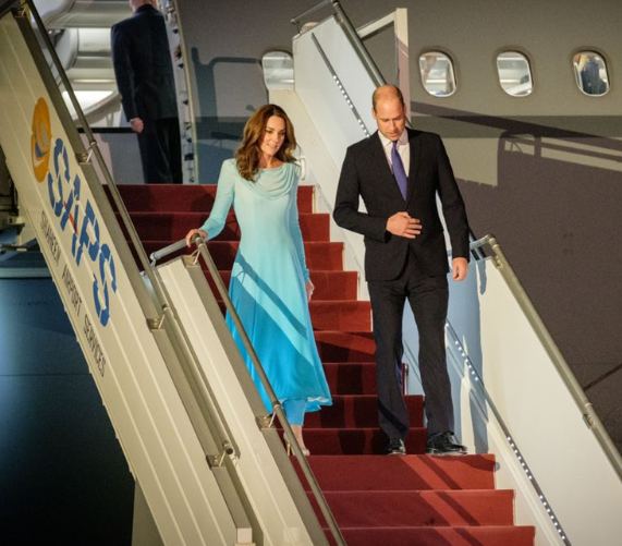 Kate Middleton and Prince Harry arrived in Pakistan