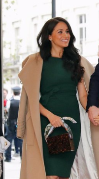 Meghan revealed how she was affected by media during pregnancy