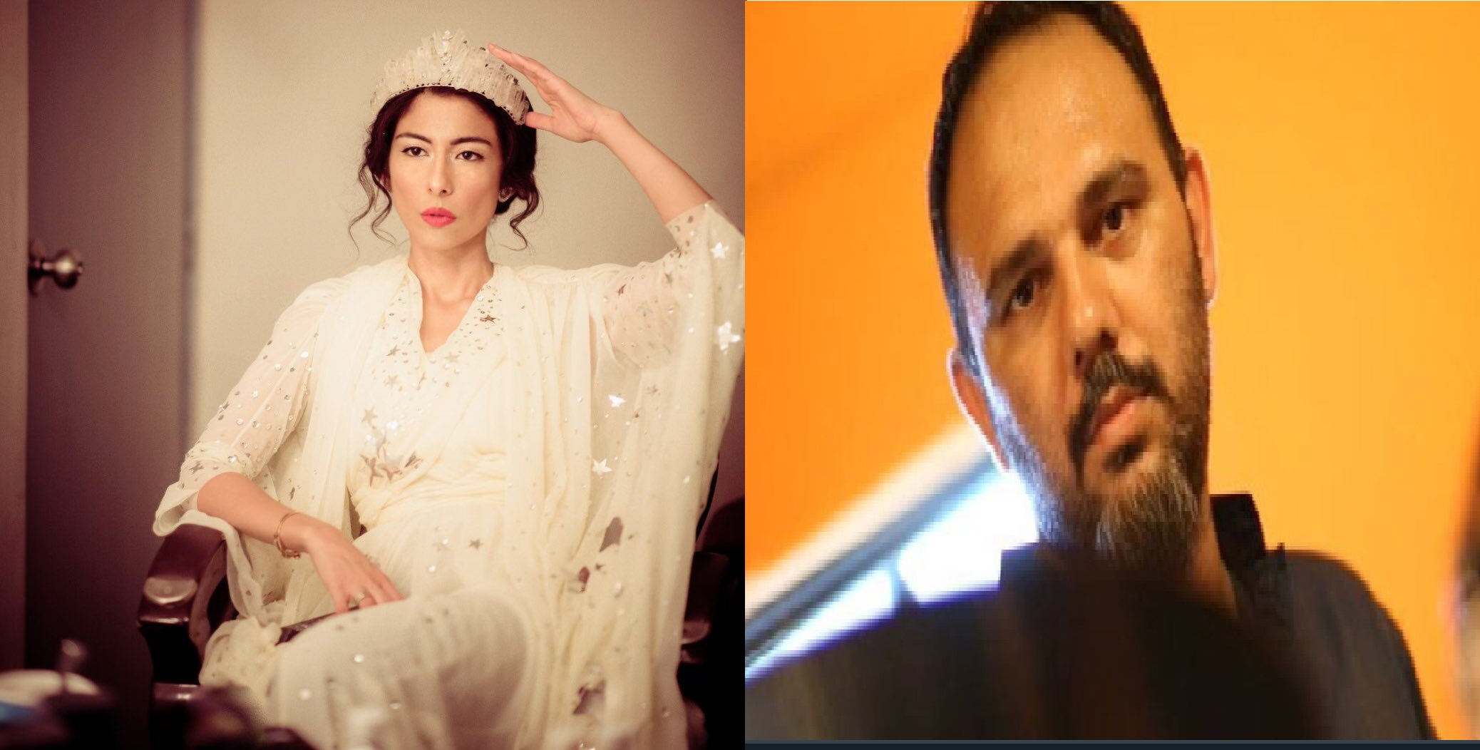 Meesha Shafi express her solidarity with Film director Jamshed Mehmood