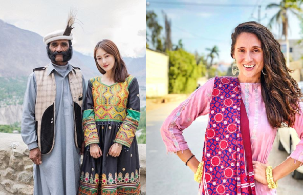 Foreign female bloggers take part in reviving Pakistan's tourism