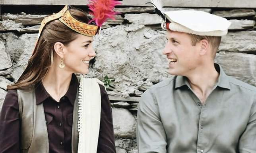 The Duke and Duchess of Cambridge shows concern about melting glaciers in Pakistan
