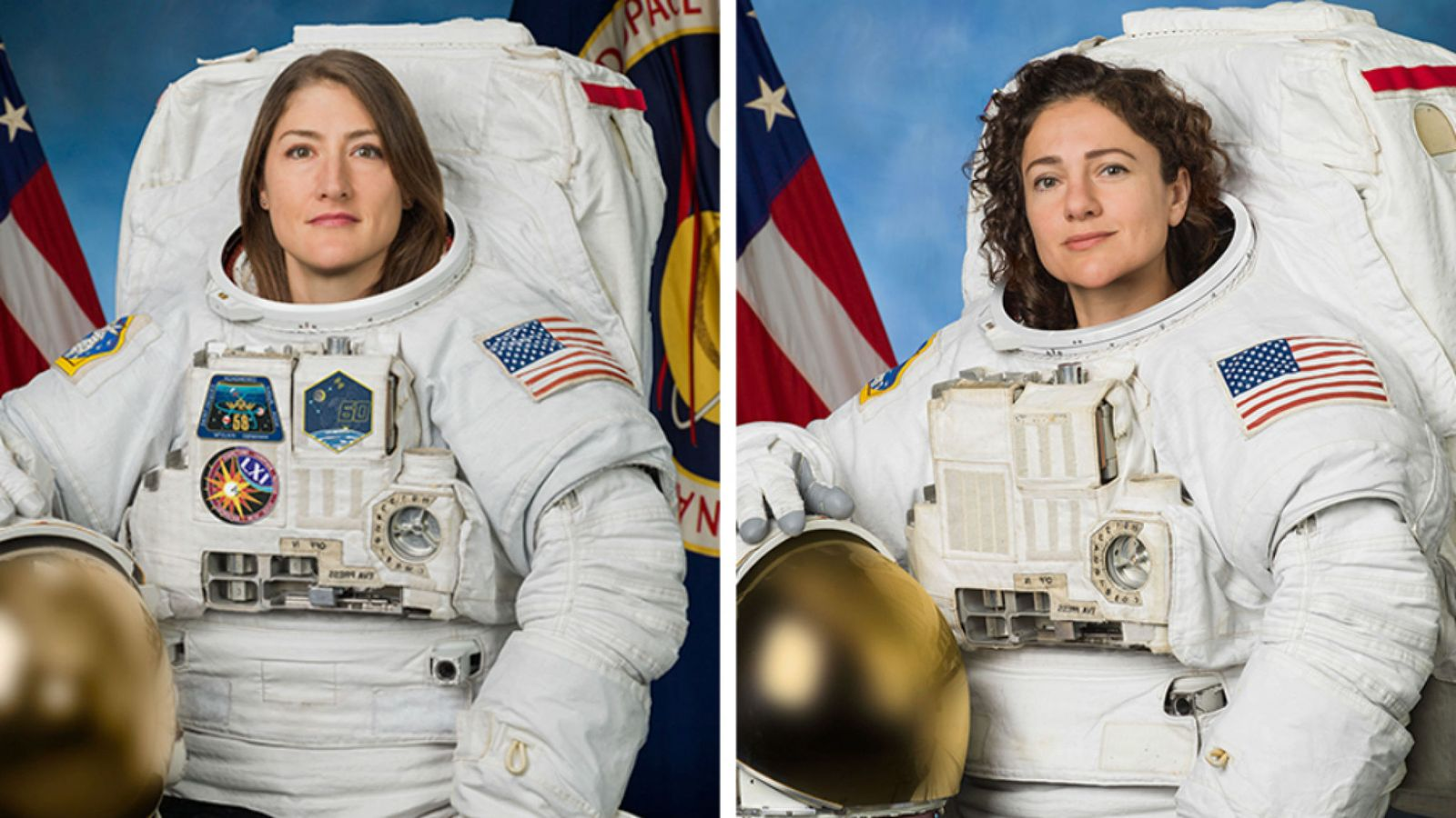 Two American females start their first-ever female spacewalk to repair ISS