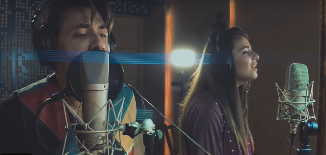 12-year old Quetta girl debut song with Ali Zafar