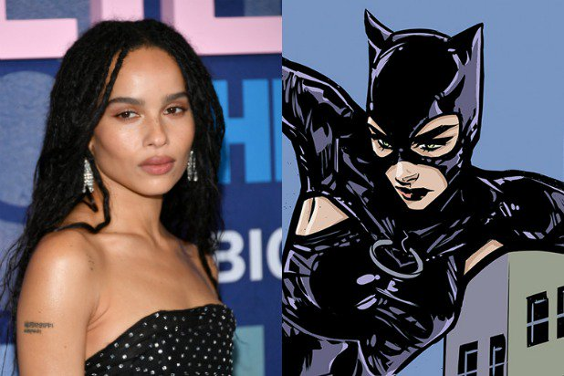 Zoe Kravitz takes on the role of Catwoman in New Batman Movie