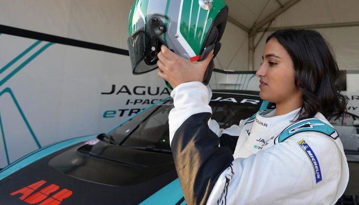 Reema Juffali becomes the first Saudi woman driver to race car in kingdom