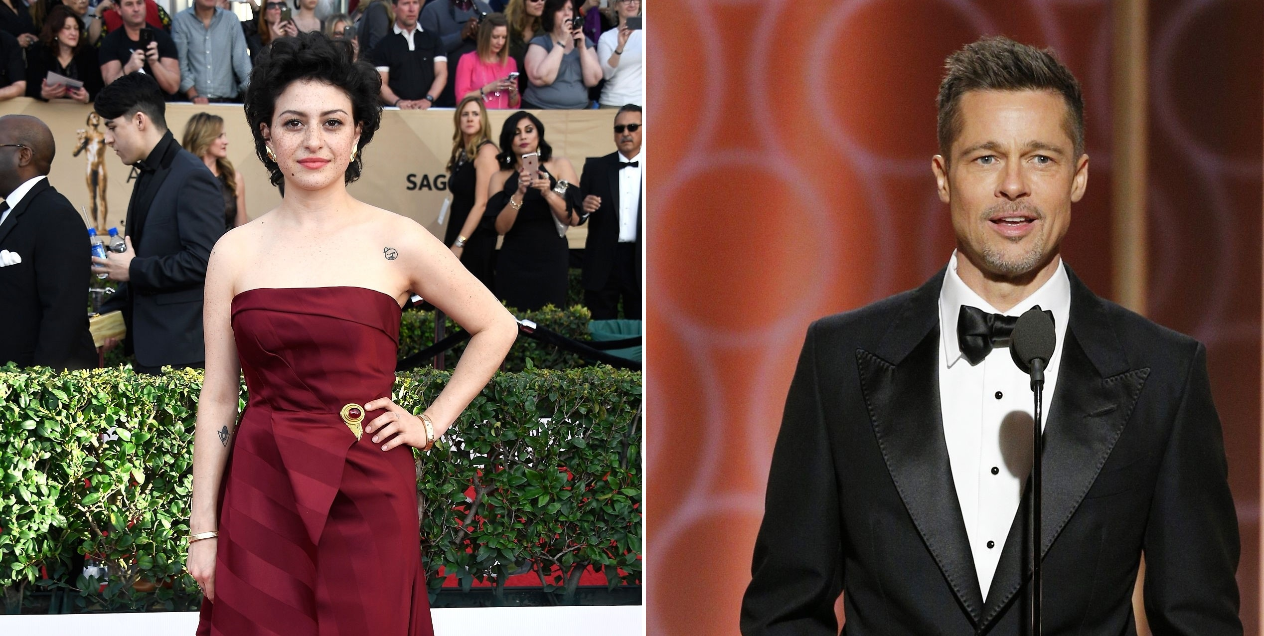 Brad Pitt and Alia Shawkat Spark Dating Rumours