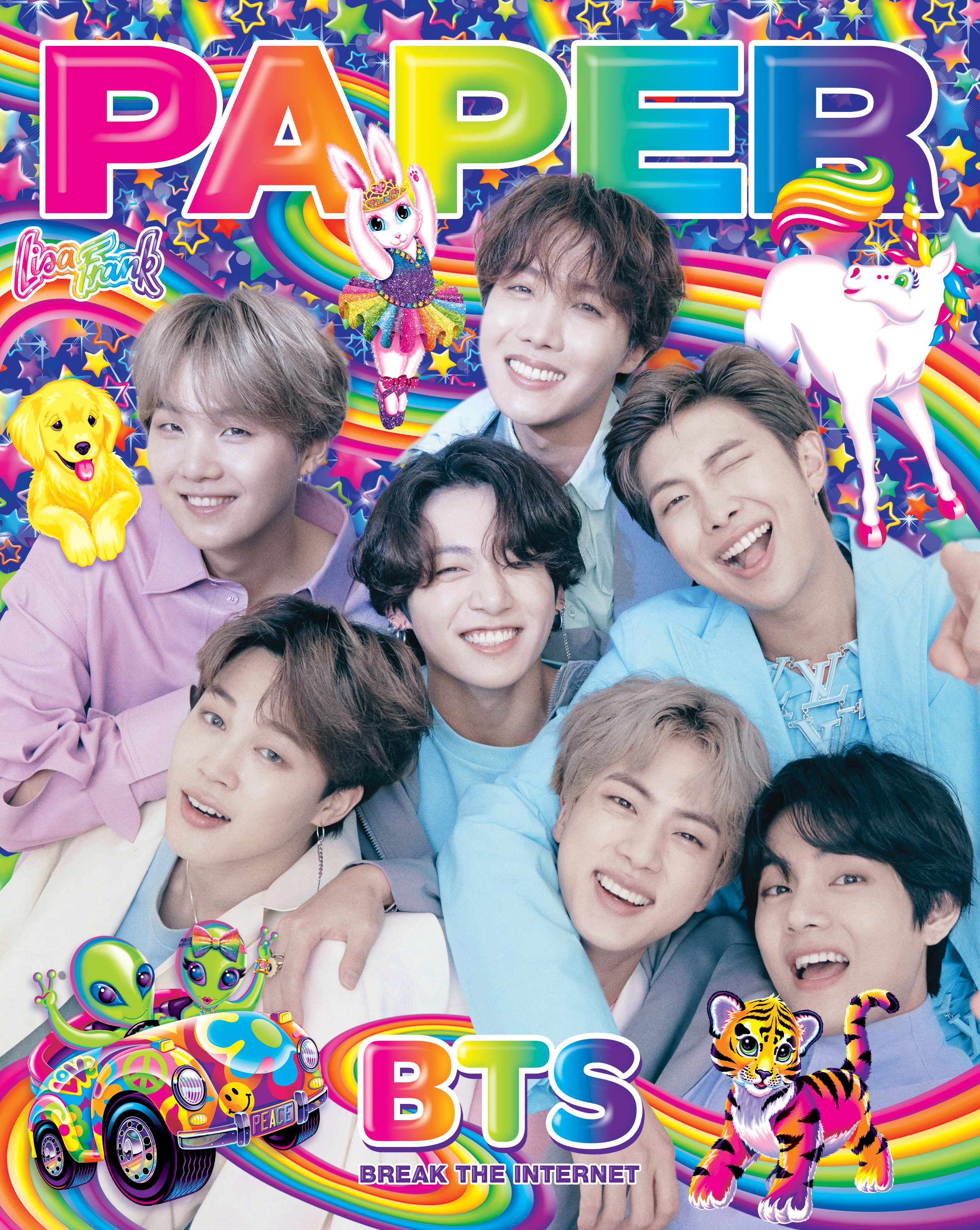 Lisa Frank collaborated with BTS 'breaks the internet' on Paper magazine cover