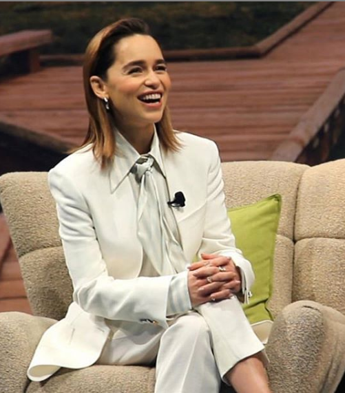 Emilia Clarke confesses about drinking during her shoot