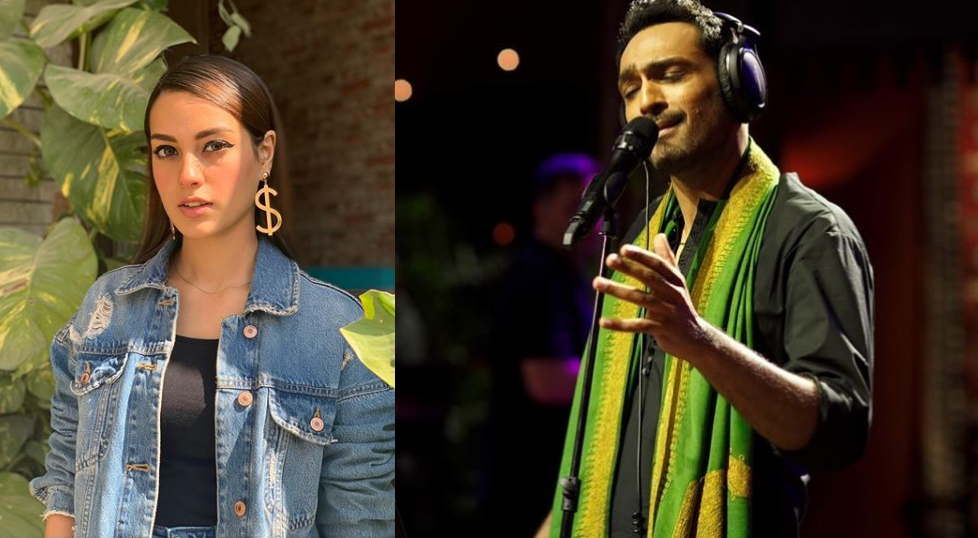 Iqra Aziz turns out to be a fan of Ali Sethi's melodious voice