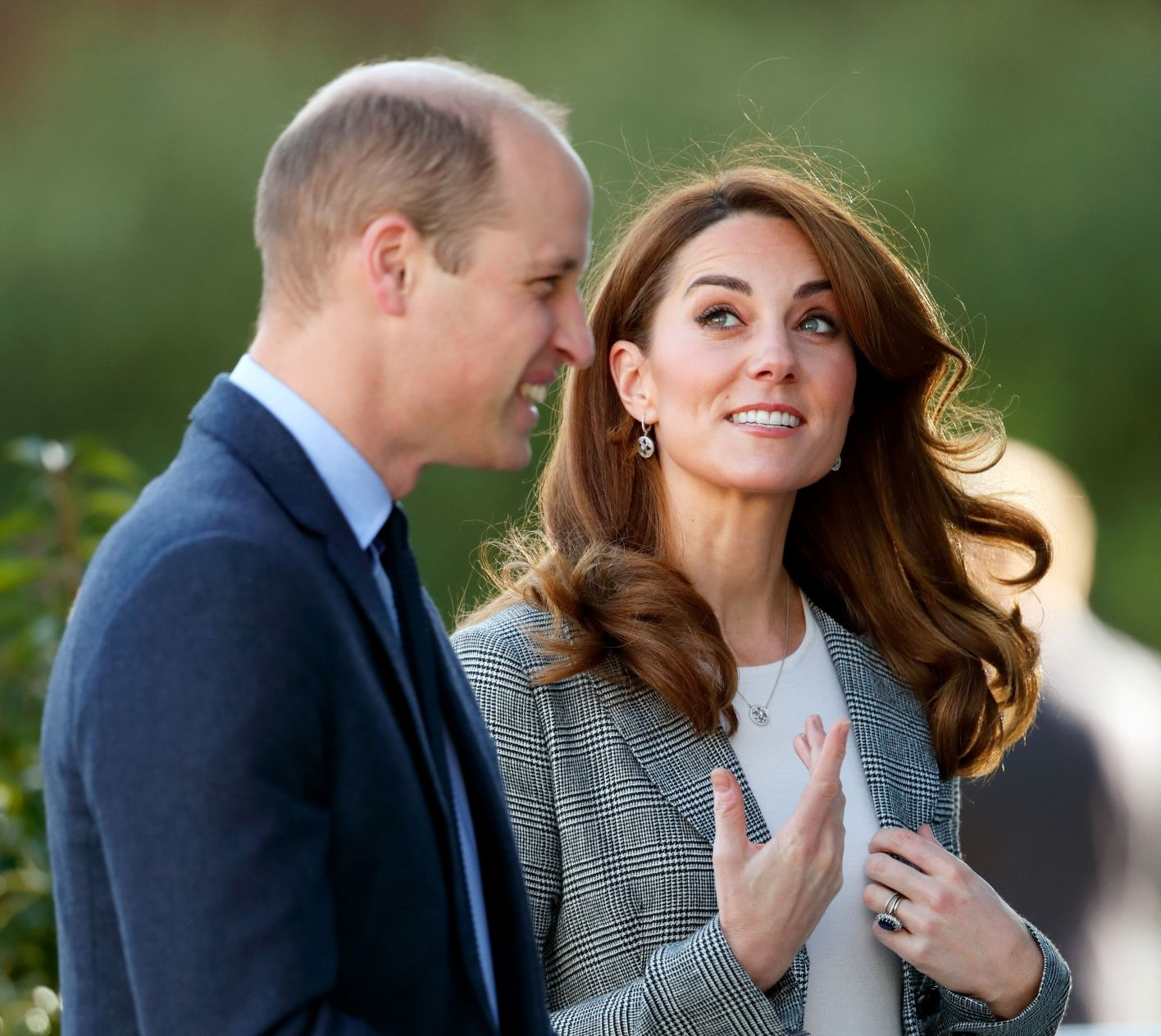 Kate Middleton Caught Laughing with Prince William