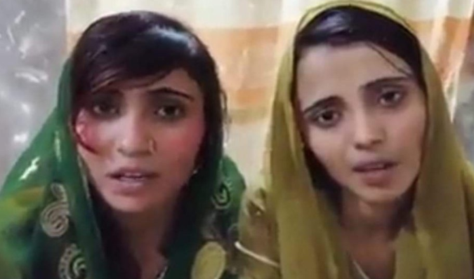 Hindu sisters abducted and forced to convert religion in Sindh claims Hindu locals
