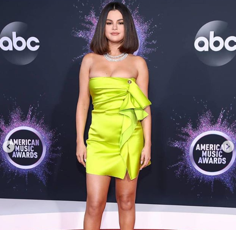 Selena Gomez became anxious during AMAs performance
