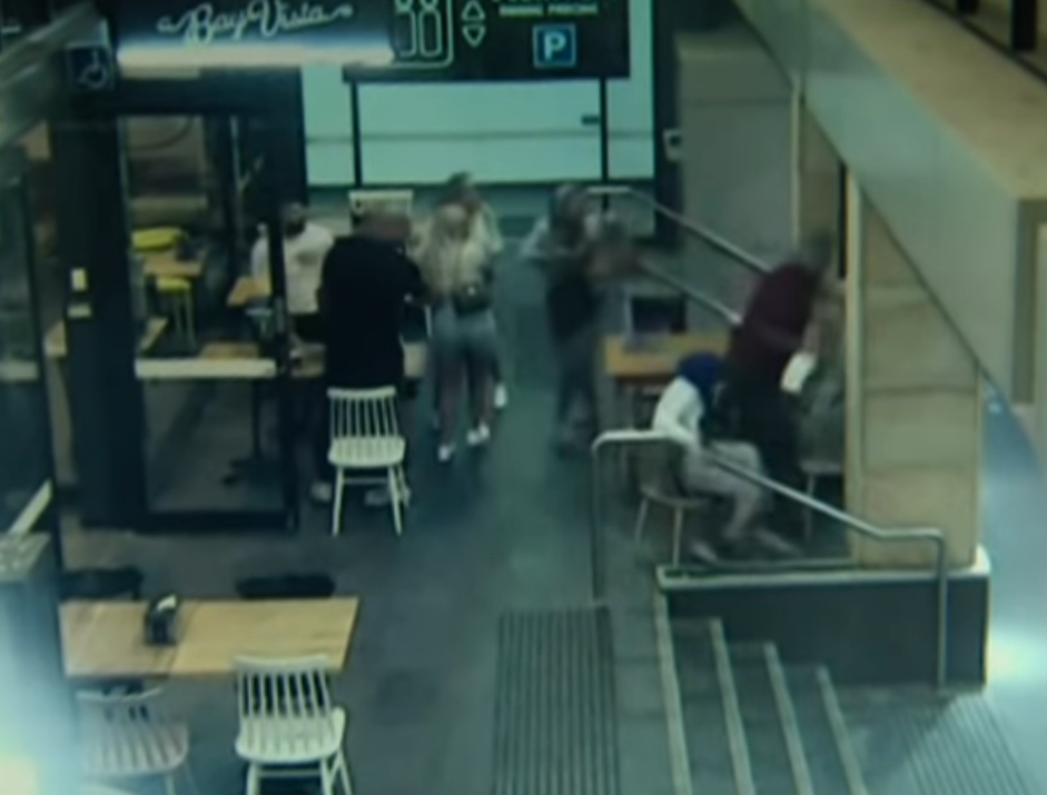 A man allegedly hit Pregnant Muslim woman at a café in Sydney