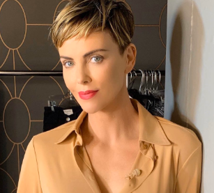 Charlize Theron won the prestigious Cinematheque American for her Bold acting.