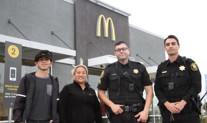 Woman asks for help at McDonald's and gets rescued