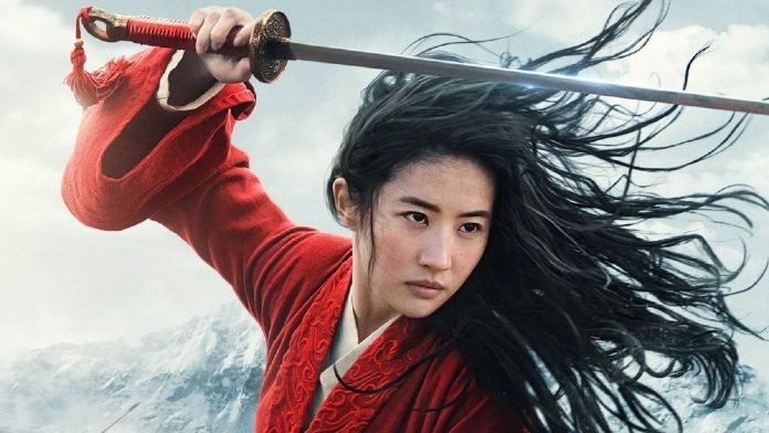 Liu Yeifi will be playing Mulan in the live-action Disney movie