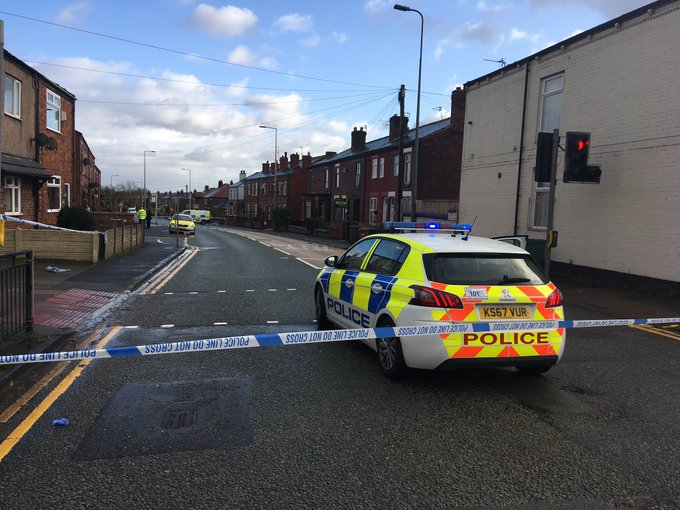 Two women injured after being stabbed in Hindley
