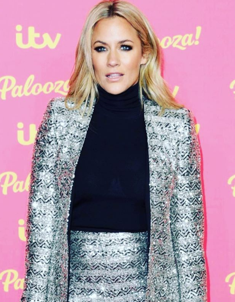 Tv Presenter Caroline Flack Charged for Attacking a Man