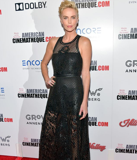 Charlize Theron's daughter gets upset when people use the wrong pronouns to address her