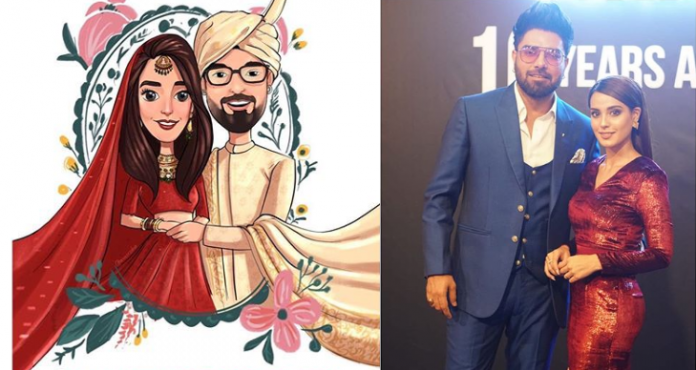 Iqra Aziz reveals her wedding card and it's hilarious