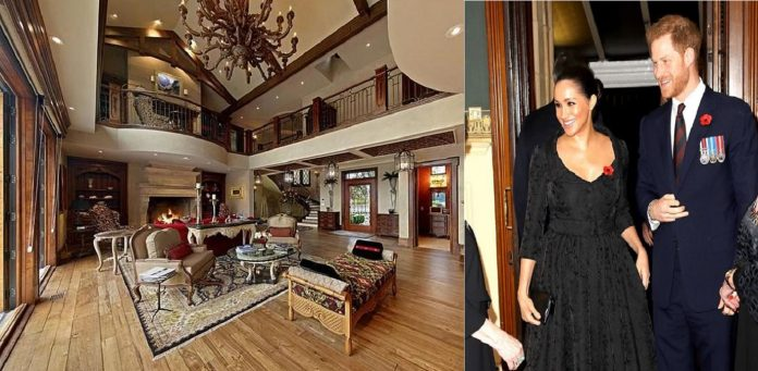 Meghan Markle and Prince Harry spent Christmas at a $14.1 million mansion in Canada