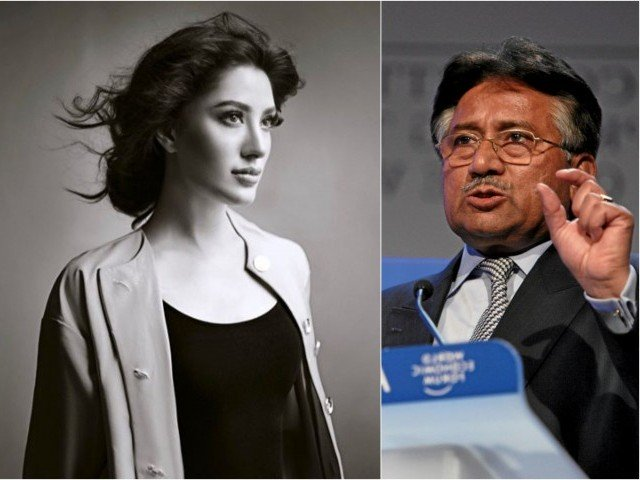 People criticize Mehwish Hayat for speaking up about Pervez Musharaff health