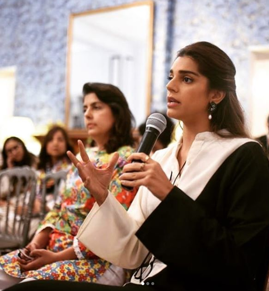 Sanam Saeed fights in support of eradicating Mental Health Problems