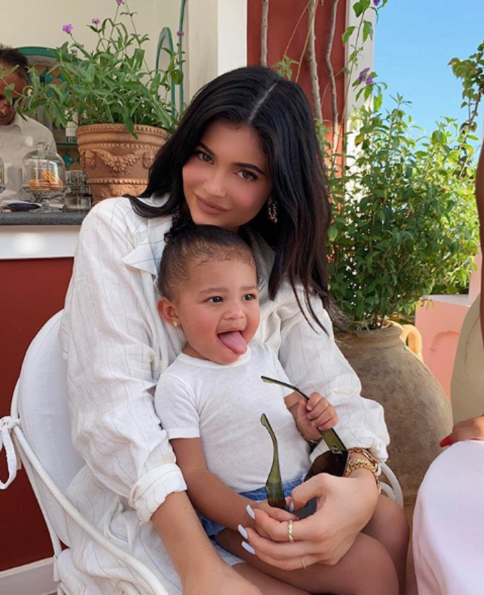 Kylie Jenner receives criticism for gifting 1-year old daughter a diamond ring