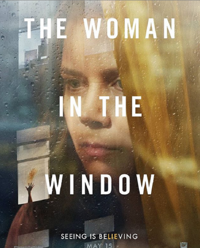 The women in the window: Amy Adams as an agoraphobic child psychologist.