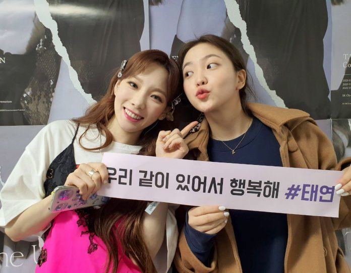 Taeyeon receives tremendous support from SM idols on final day of concert
