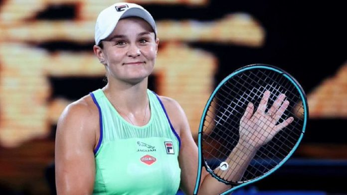 Tennis star Ash Barty named as Young Australian of the Year