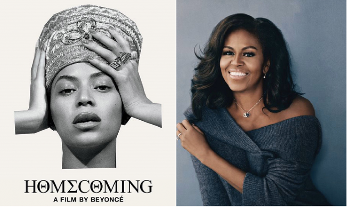 Michelle Obama and Beyonce won 2020 Grammy's