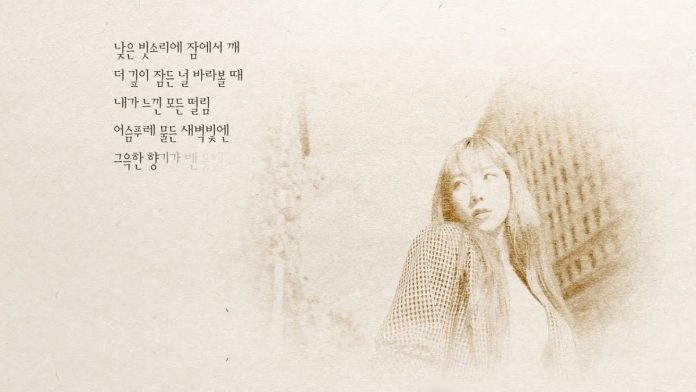 Girls' Generation's Taeyeon drop lyric MV for 'Drawing our Moments'