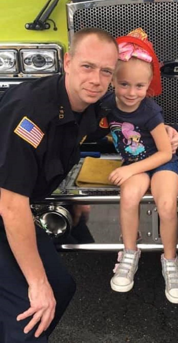 Six-year-old daughter helped save her family during a house fire
