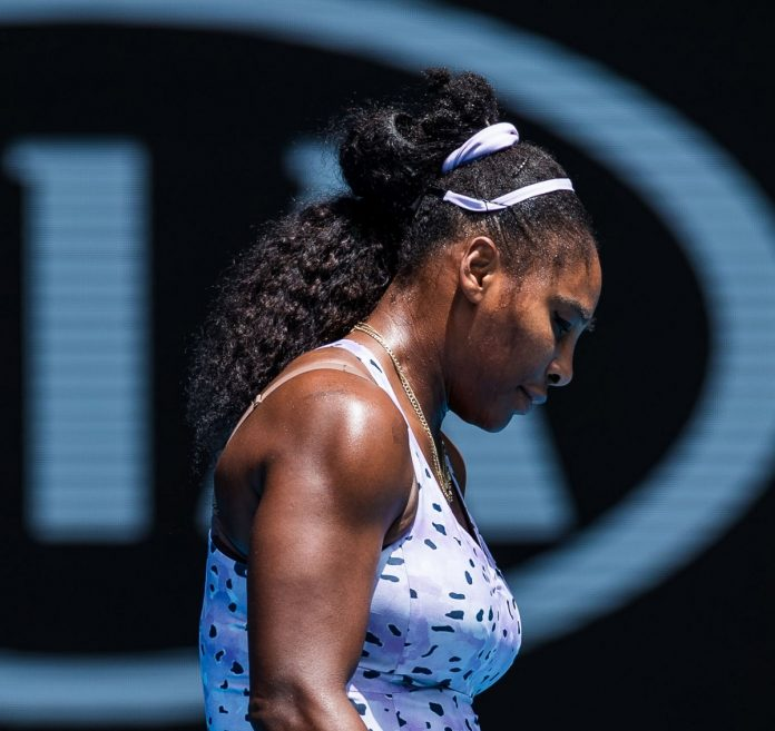 Serena Williams got defeated in Australian open and slammed her own performance