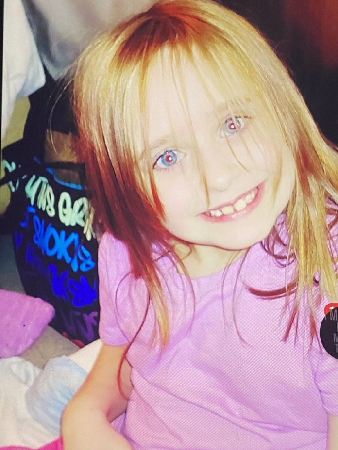 6-year old girl vanished while playing in her front yard