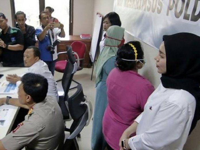 Two women taken into custody for allegedly spreading hoax about coronavirus in Indonesia