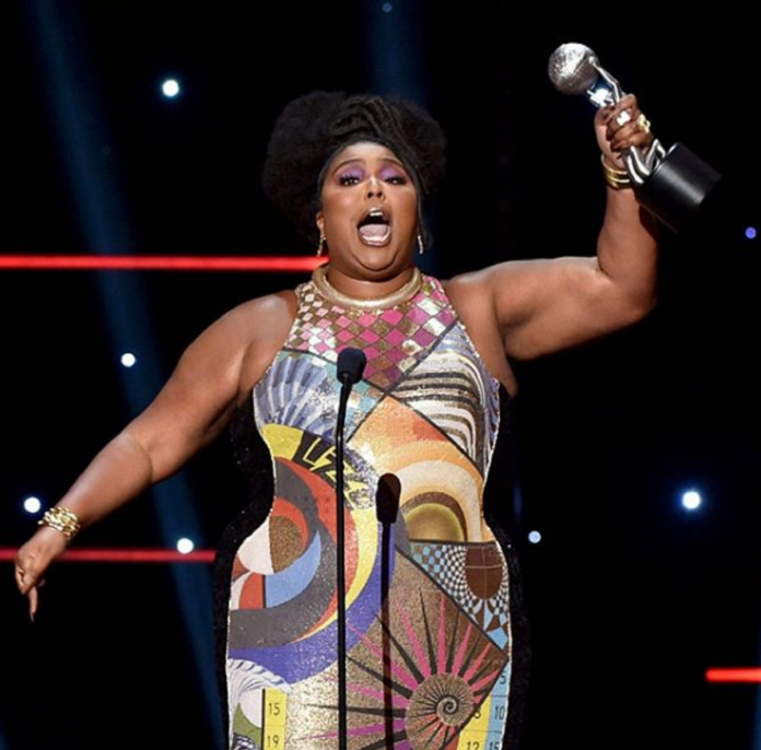 Lizzo wins Entertainer Of The Year Award at NAACP Awards